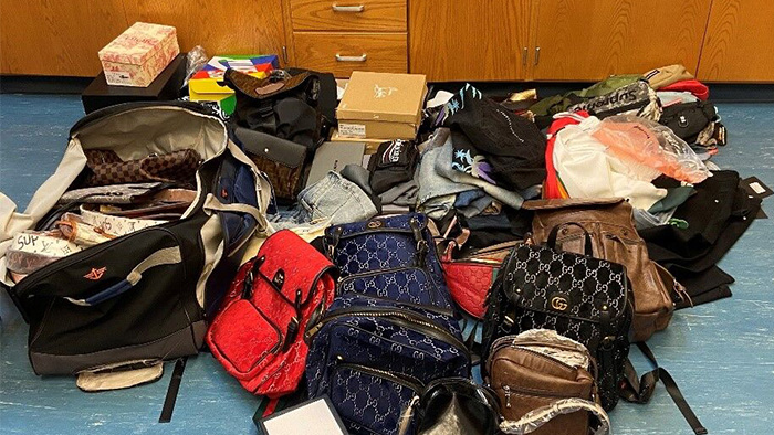 Traffic stop in Mooresville leads to seizure of $360K in counterfeit designer goods