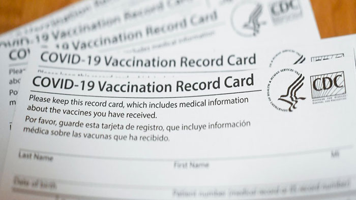 Fake CDC Vaccine ID Cards Being Sold Online In Illinois